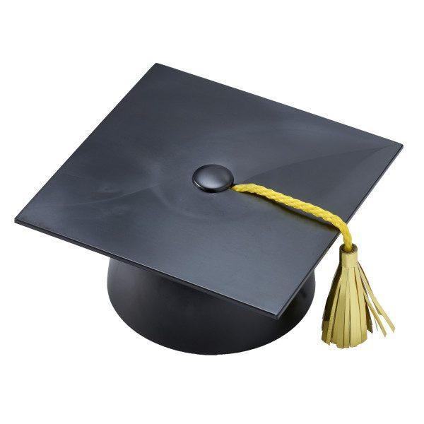 Party Plastic Graduation Cap with Tassel