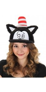 Dr Seuss Cat In The Hat Fuzzy Cap