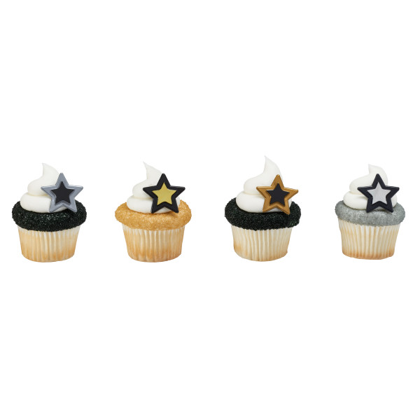 Party Plastic Star Rings