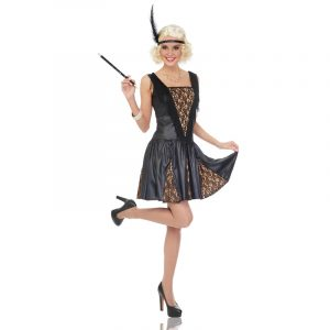 Flapper Peek A Boo 20s Costume