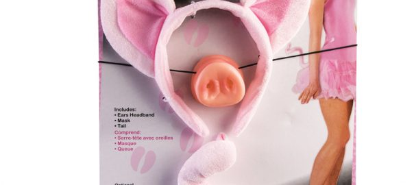 Costume Deluxe Sexy Pig Ears Tail Nose Kit