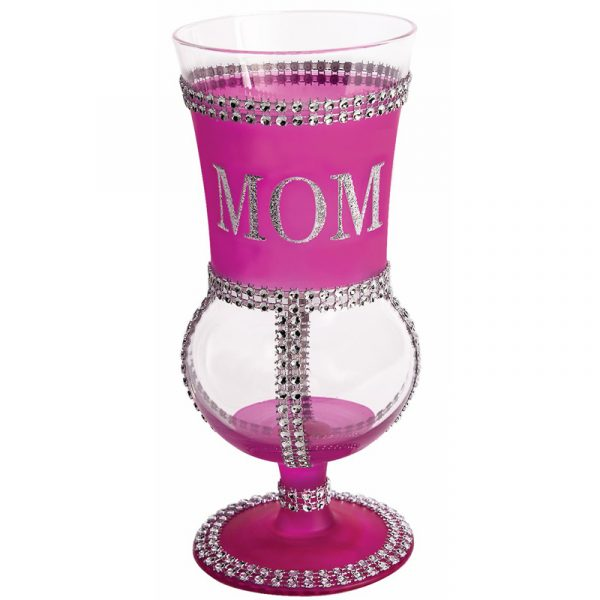 Trimmed Glass Goblet Drinking Glass
