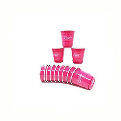 Pink Birthday Girl Mini Solo Shot Cups