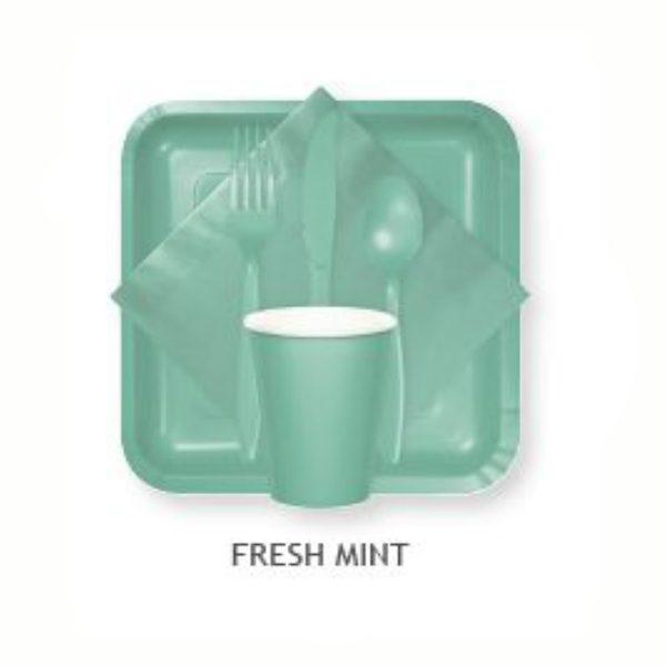 Fresh Mint Tableware Tablecovers Utensils