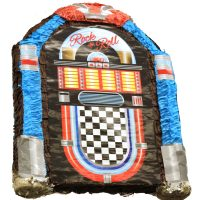 Rock n Roll Jukebox Pinata Birthday Party Game