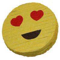 Heart Eyes Emoji Pinata Birthday Party Game