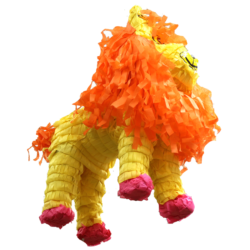 Lion Piñata Birthday Safari Theme Party Game