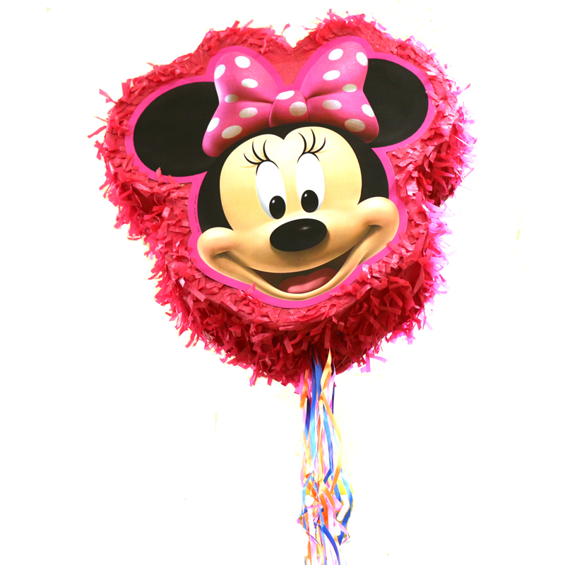 Buy Minnie Mouse Pinata Birthday Party Game Cappel S