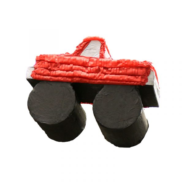 Red Monster Truck Pinata Cinco De Mayo Birthday Party Game