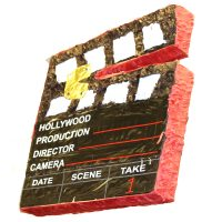 Movie Clapper Pinata Awards Party Game