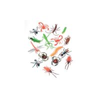2 Inch Plastic Insects