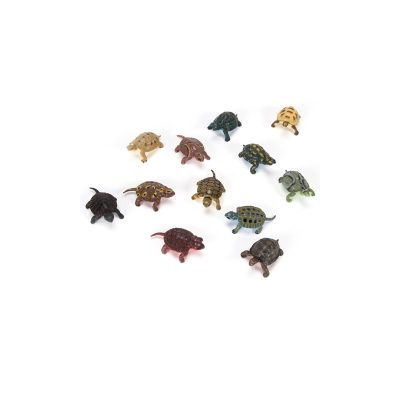 "2"" Deluxe Assorted Painted Plastic Turtles"