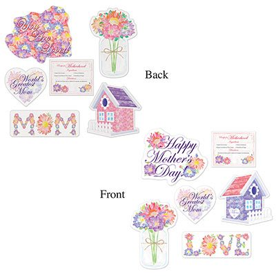 Assorted Mothers Day Cutouts