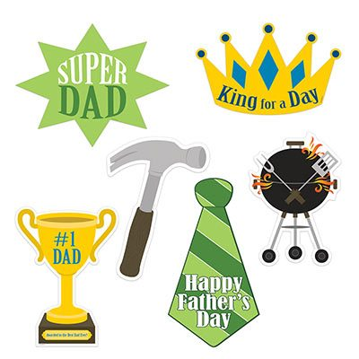 Assorted Fathers Day Cutouts