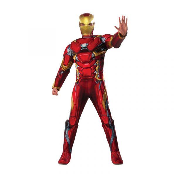 Ironman Civil War Deluxe Padded Jumpsuit Adult Halloween Costume