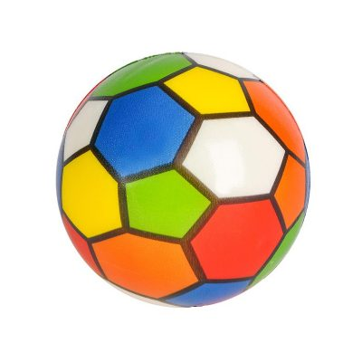 Puzzle Print Squeeze Ball - like Rubik's Cube