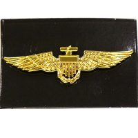 BAO27-Gold-metal-aviator-pin