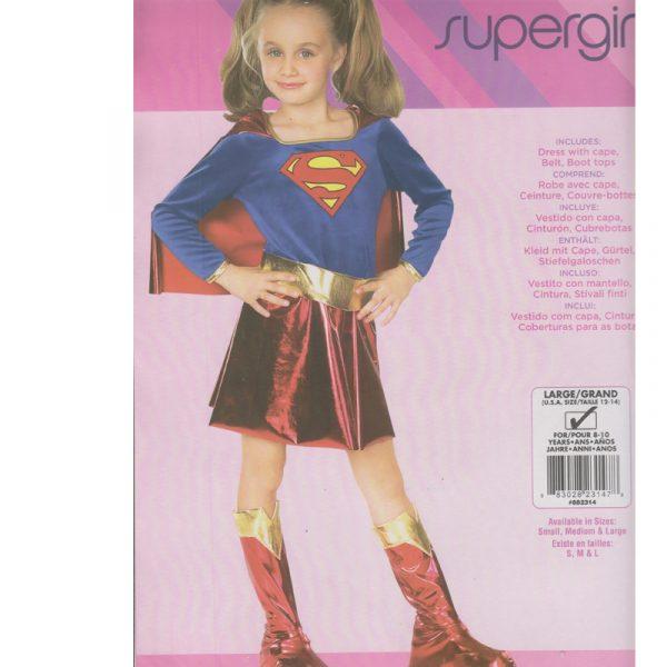 Supergirl Child Halloween Costume