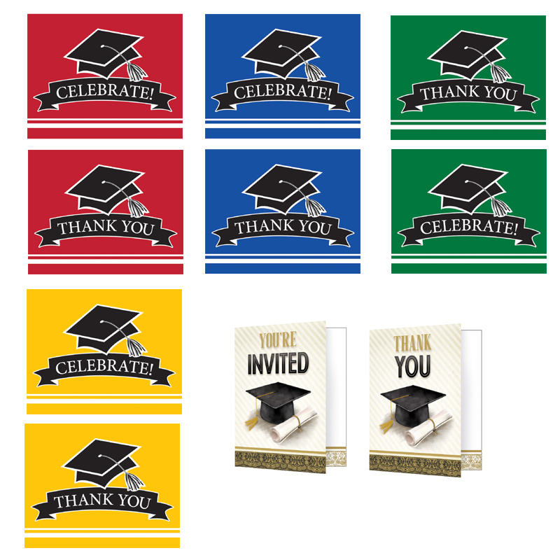 Graduation Invitations and Thank You Cards