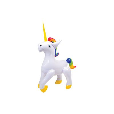 27 Inch Unicorn Inflate Pool Toy
