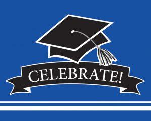 Graduation Invitations - Blue