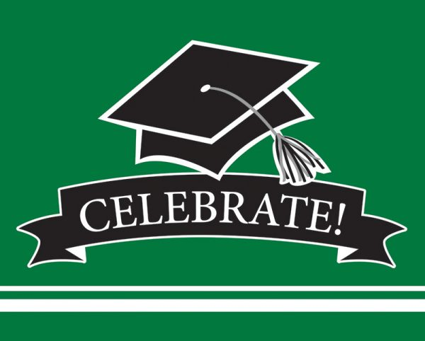 Graduation Invitations - Green