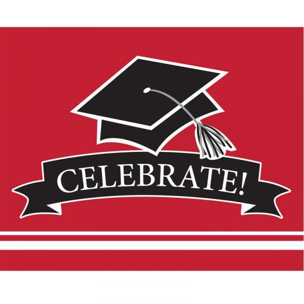 Graduation Invitations - Red