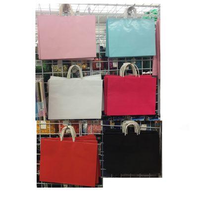 16 x 12 Inch Paper Vogue Tote Bag w Handles