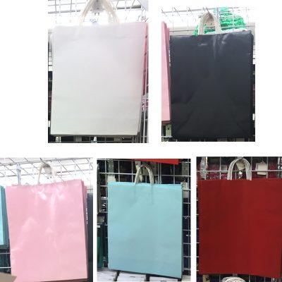 16 x 19 Inch Paper Jumbo Tote Bag w Handles