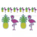 Flamingo Pineapple Streamer