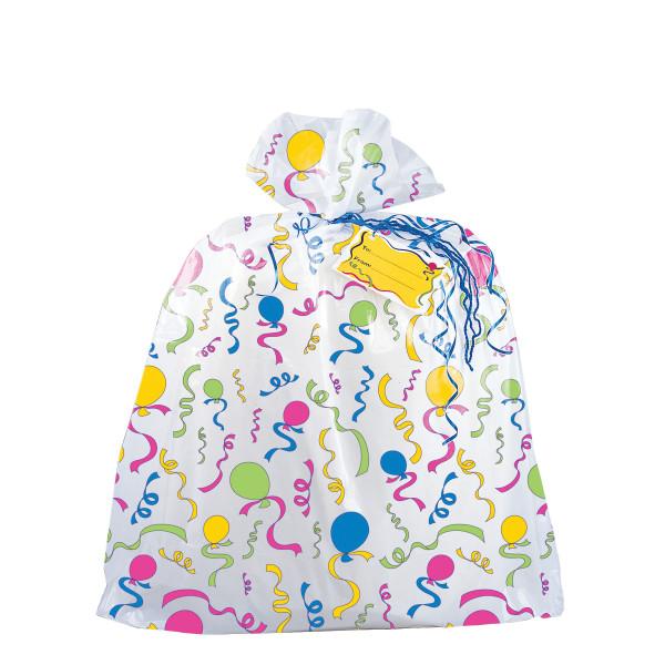 Jumbo Plastic Gift Bag For Baskets Large Gifts