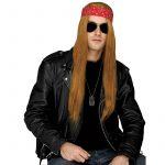 Costume Rockin 80s Long Straight Grunge Wig Axle Rose