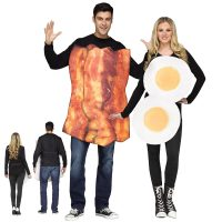 Bacon Eggs Couples Halloween Costume