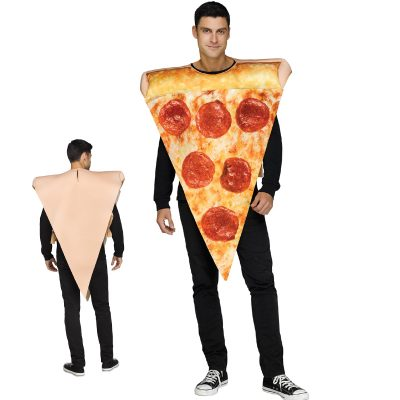 Pepperoni Pizza Slice Stuffed Crust Halloween Costume