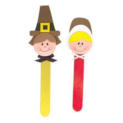 Pilgrim Puppets Foam Kit Thanksgiving Craft