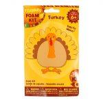 Turkey Foam Kit Thanksgiving Craft