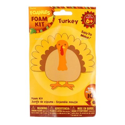 Turkey Foam Kit Thanksgiving Craft