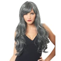 Dreadful Wig Long Gray Wavy Hair
