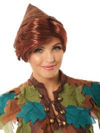 Peter Pan Auburn Wig
