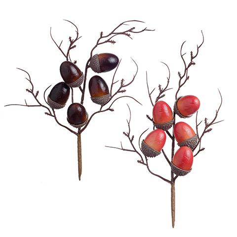 Plastic Acorn Pick5 acorns