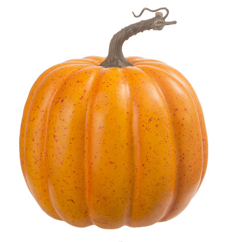 7 Inch Speckled Pumpkin Fall Decoration