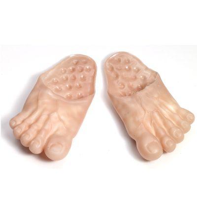Rubber Jumbo Bare Feet Costume Accessory