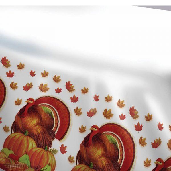 Promo Turkey Plastic Table Cover Rectangular 54 x 108