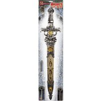 Costume Plastic Medieval Knight Sword n Sheath