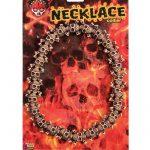 Costume Mini Skull & Crossbones Necklace
