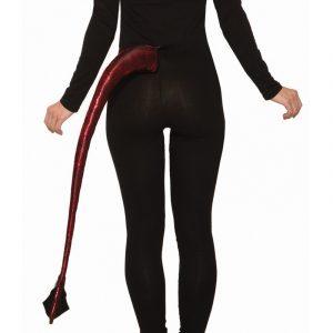 Costume Fabric Printed Metallic Devil's Tail