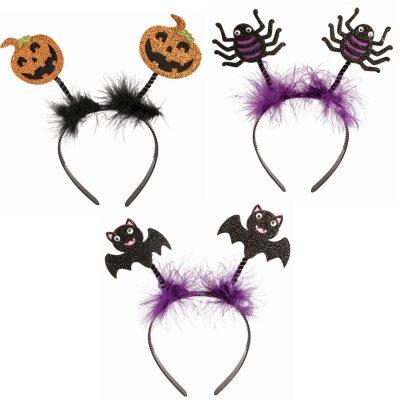 Costume Sparkle Fabric Halloween Figure Headbands