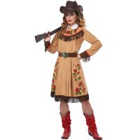 Cowgirl Annie Oakley Adult Costume