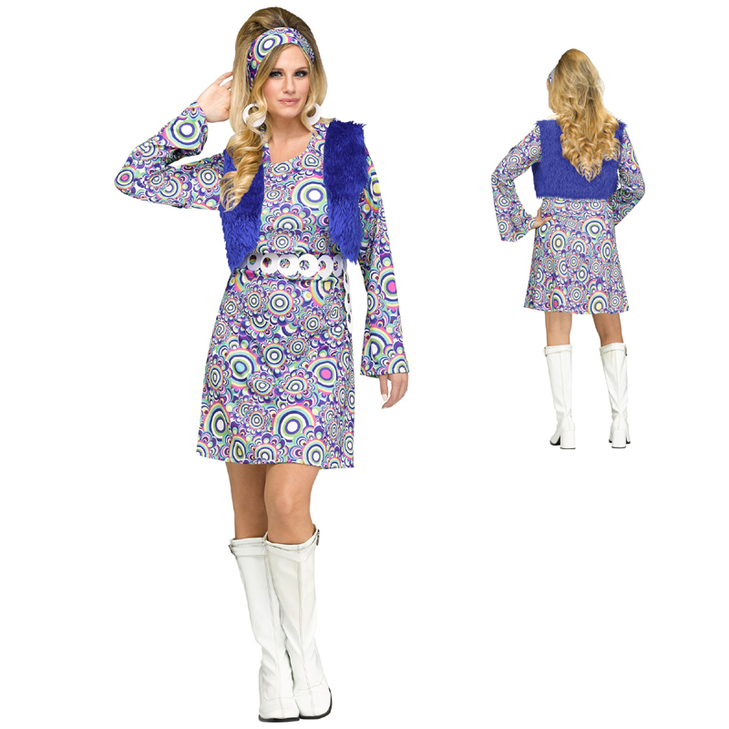 Groovy 60s Shaggy Chic Dress