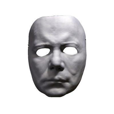 Vacuum Form Plastic Halloween II Michael Myers Mask